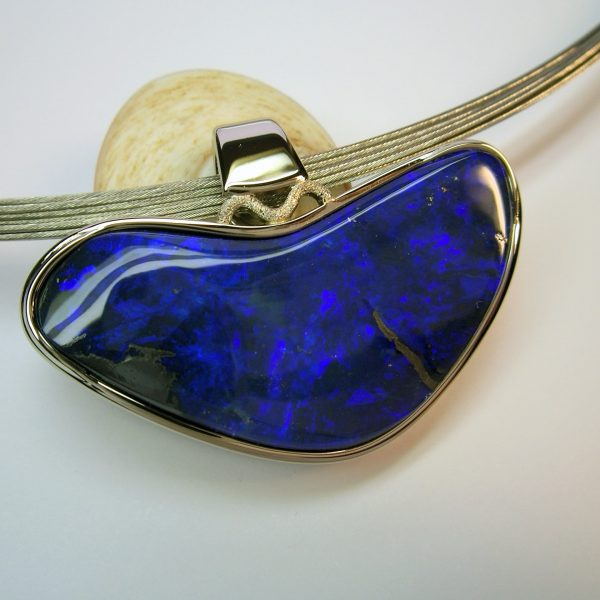 Pendentif-Opale